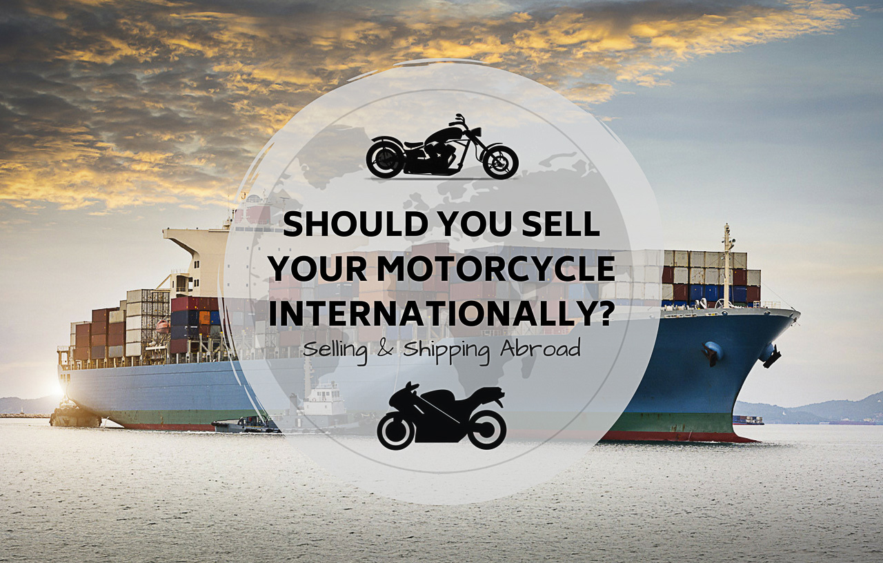 International Used Motorcycle Sales - Selling and Shipping Abroad - Title Thumbnail