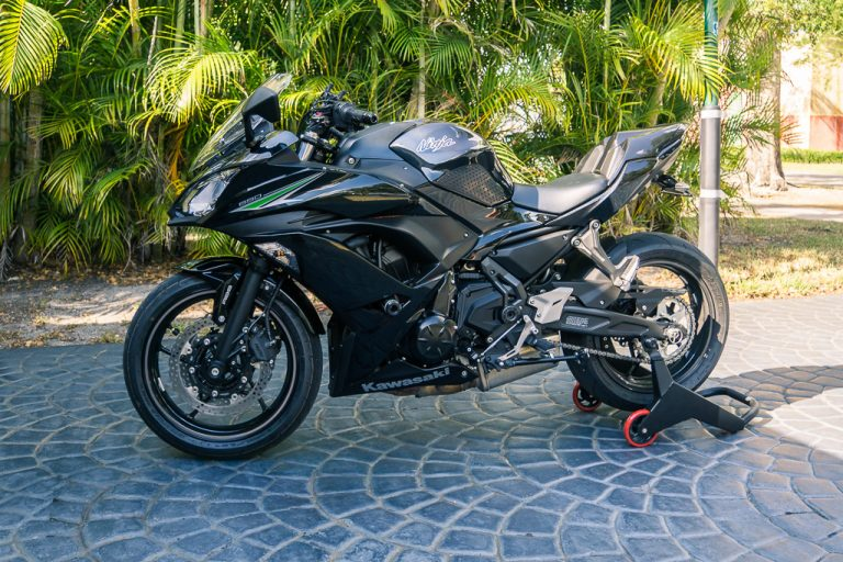 To see what I've installed on this bike, take a look at my Kawasaki Ninja 650 mods list here.