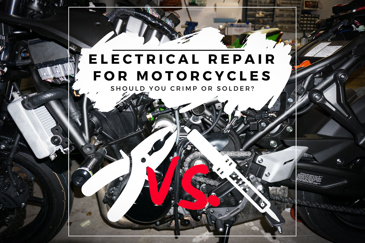 Electrical Repair – To Crimp or Solder? - Title Thumbnail
