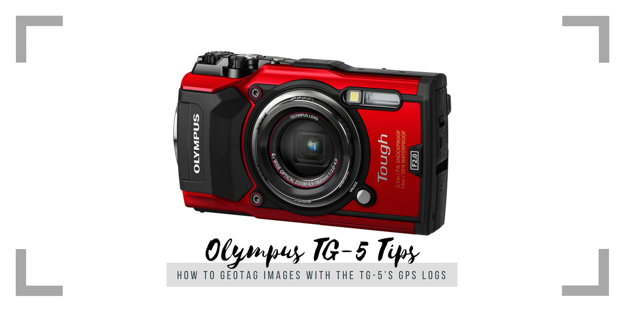 How to Geotag Other Images with the TG-5's GPS Log