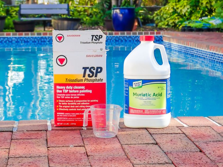 To clean a Hayward pool filter, you'll need a few things. The main items are TSP and Muriatic Acid.