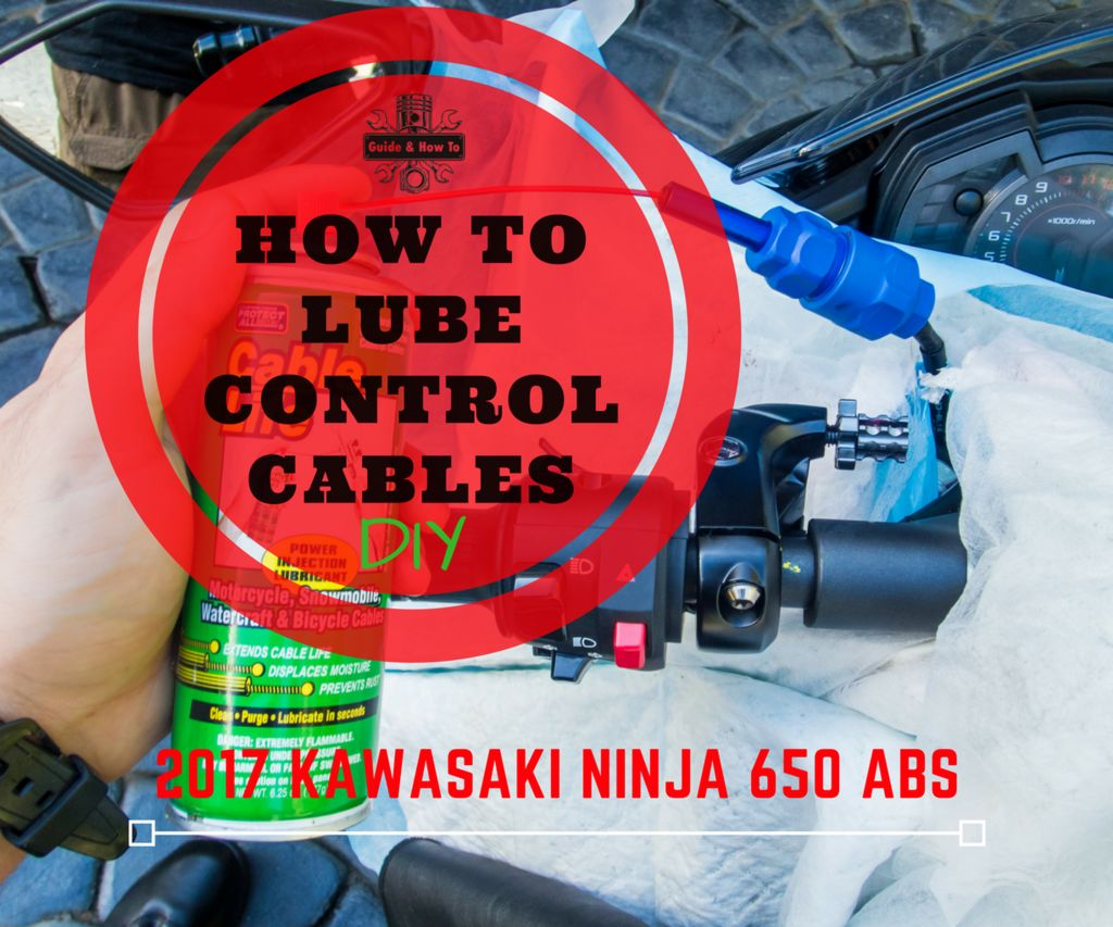How to Lube the Throttle and Clutch Control Cables on a Motorcycle