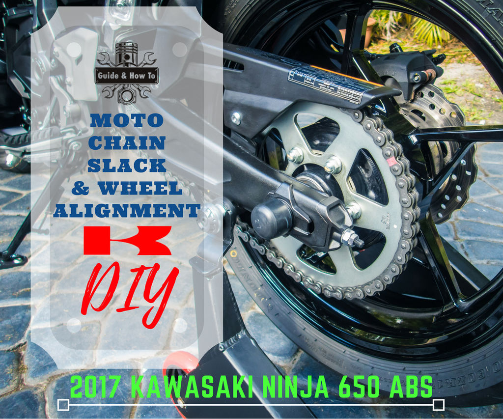 Motorcycle Chain Adjustment