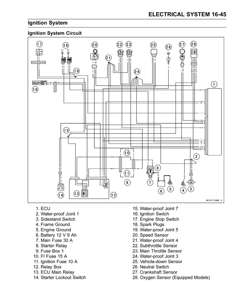 Remote Engine Shut-Off Device for Motorcycles - Theory and ... on fuel pump relay diagram, headlight relay diagram, alarm relay diagram, electrical relay diagram, starter relay diagram, coil relay diagram,
