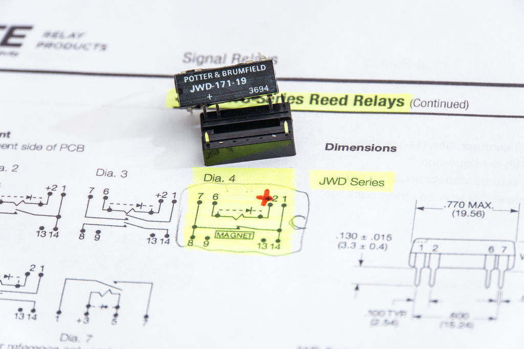 Remote engine shut off device for motorcycles theory and assembly the reed relay youll notice that it only uses a few pins since they arent necessary consider removing the extra pins namely 3 4 5 9 10 11 ccuart Choice Image