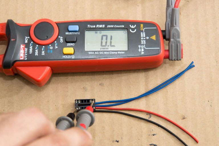 Check the terminals with the Continuity mode of your multimeter to make sure you don't have any short circuits between the terminals. Check each terminal against each other terminal.