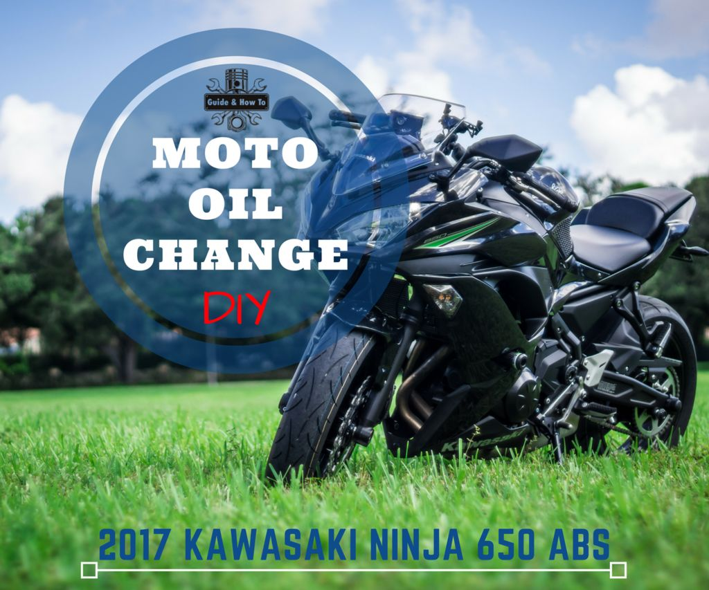 Motorcycle Oil Change How-To - Ninja 650