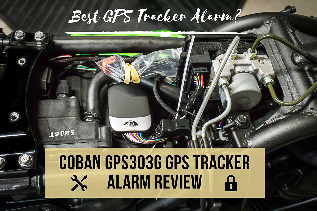 Coban GPS Tracker Alarm GPS303G TK303G Review - Title Thumbnail