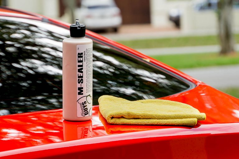You might have seen the bottle of Chemical Guy's M-Sealer Wax in the Genesis Coupe rear spoiler DIY I did a while back.