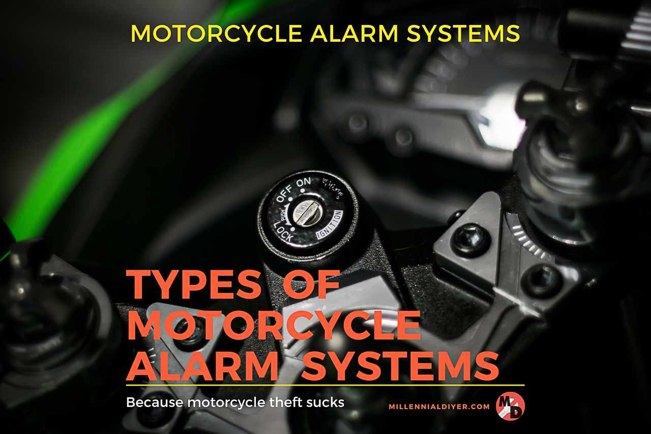 Types of Motorcycle Alarm Systems - Title Thumbnail