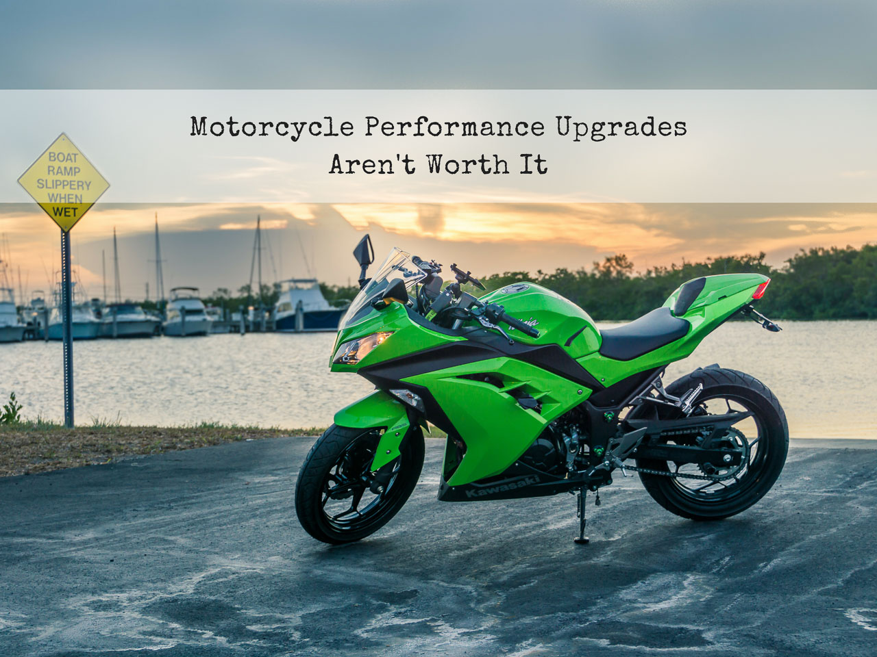 Why Motorcycle Performance Upgrades Aren't Worth it - Title Thumbnail