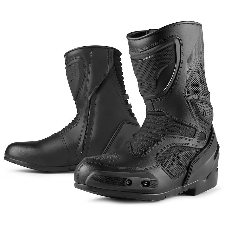 Icon Overlord Boots - Stealth Black
