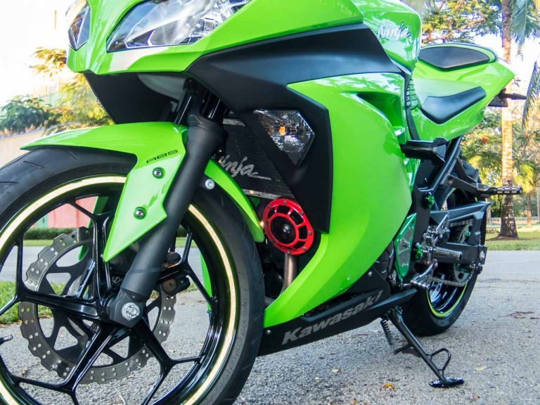 The aftermarket has treated the Ninja 300 well. There are plenty of cheap and good-looking bolt-on parts for it.