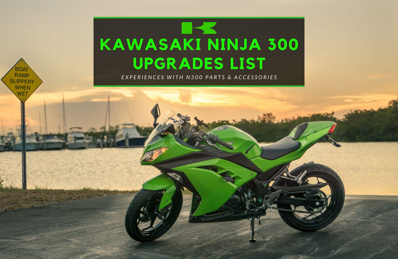 Kawasaki Ninja 300 Mods List Worthy Upgrades Accessories